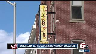 BARcelona Tapas closes downtown Indianapolis location - Video