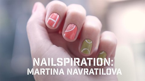 Nailspiration: Martina Navratilova