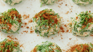 Xanthe Clay's potted salmon and chive bonbons - Video