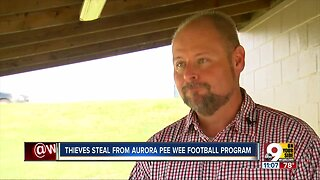 Thieves steal from Aurora pee wee football league