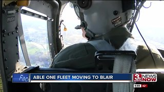 Able One, OPD's helicopter fleet, moving to Blair