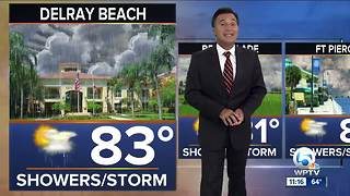 Saturday 11pm weathercast - Video