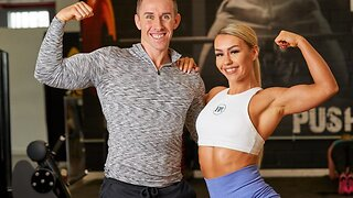 Is This The Uk's Fittest Couple? Loved Up Duo Spend £30k To Fund Their Extreme Healthy Lifestyle
