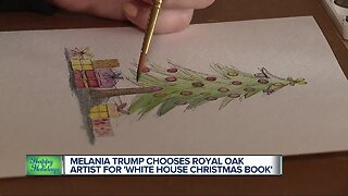 Michigan illustrator selected for 'White House Christmas Book'