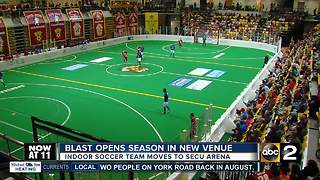 Blast moves into new home, wins season opener
