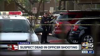 Suspect shot, killed by police in Phoenix Tuesday - Video