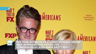 'Morning Joe' Hosts Allege Trump Blackmailed Them - Video