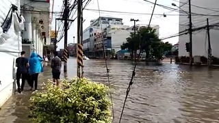 Sakon Nakhon Streets Remain Flooded Days After Torrential Rainfall - Video