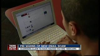 FBI warns of email scam blackmailing internet porn watchers - Video