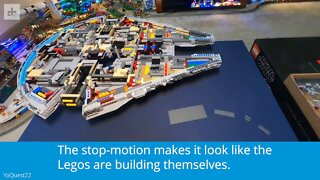 Epic Lego Millennium Falcon Build
