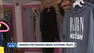 Fashion Boutique on wheels provides mobile clothing store for Cleveland - Video