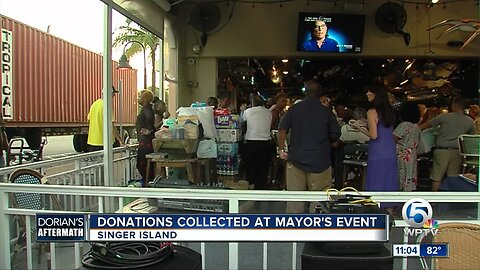 Donations collected at Mayor's event on Singer Island