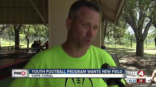 Lee County Hawks search for own field - Video