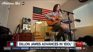Bakersfield's Dillon James advances to Top 10 of 'American Idol'