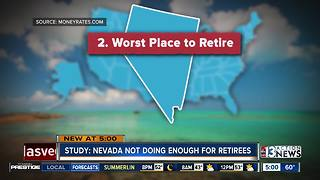 Nevada ranked as second worst place to retire - Video