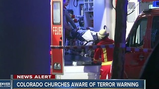 Authorities warn of possible attacks on churches, holiday gatherings - Video