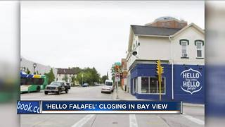 Bay View's Hello Falafel Closing Down - Video