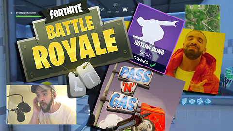 Drake's 'Hotline Bling' discovered inside Fortnite Battle Royale
