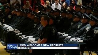 Milwaukee Police Department graduates new recruits - Video