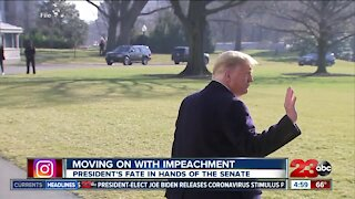 Moving on with impeachment