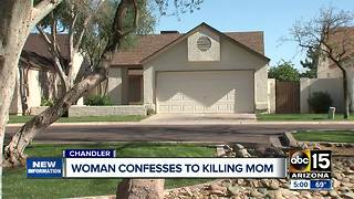 Chandler woman accused of strangling, killing her mother - Video