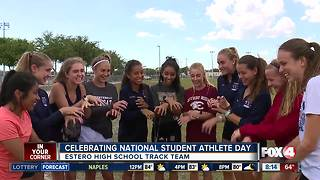 Honoring local students on National Student Athlete Day - 8am live report