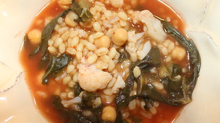 Barley soup with Swiss chard recipe - Video