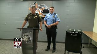 Police to put opioid drop-off bins at 6 local high school football games - Video