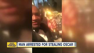 Man arrested, accused of stealing Frances McDormand's Oscar trophy - Video