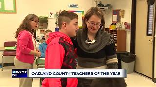 Oakland County Teachers of the Year - Video
