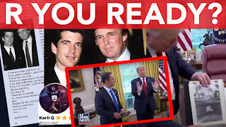 R you ready? President Trump believes R is alive? You decide!