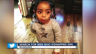 Police are searching for men who kidnapped girl