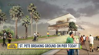 Crews to break ground on the St. Pete Pier Wednesday - Video