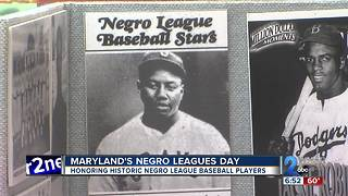 Maryland's Negro Leagues Day - Video