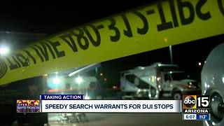 Instant search warrants coming for Arizona police departments - Video