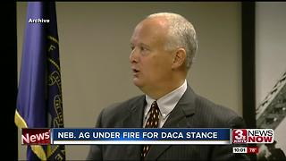 Nebraska Attorney General under fire for DACA stance - Video