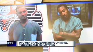 Detroit men charged in string of kidnappings, rapes & robberies - Video