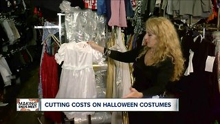 Cutting costs on Halloween costumes