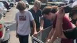 One Gen Away Donates Food To Those In Need - Video
