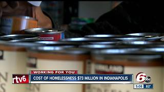 8,100 people experienced homeless in Indianapolis in 2016