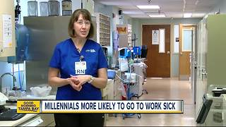 Millennials may be giving you the flu by choice, survey shows - Video