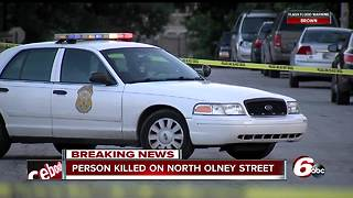 Man found shot to death in alley on Indy's east side - Video