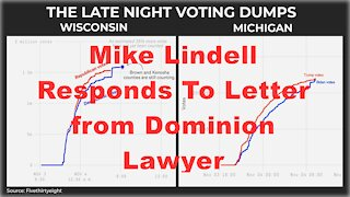 Mike Lindell Responds To Letter from Dominion Lawyer