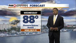 Lower Rain Chances Through Friday 8-1 - Video