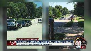 ATF: Explosive thrown at Raymore police cruiser - Video