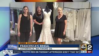 Francesca's Bridal says Good Morning Maryland! - Video