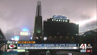 Kansas City-based company designed Gillette Stadium - Video