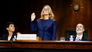 Ford Says She's '100 Percent' Certain Kavanaugh Assaulted Her - Video