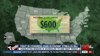 Fight in Congress over economic stimulus bill