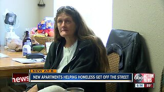 New Clearwater apartments helping the homeless get off streets